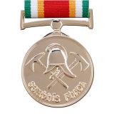 Medaglia su ordinazione di onore di gioco del calcio di sport del premio del metallo (XD-FM-06)