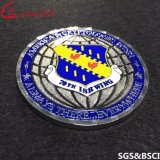 Fabrik-kundenspezifische MetallMilitray Polizei USA-Andenken-Herausforderungs-Münze