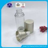 化粧品のための空気のないポンプびんを包む新しいデザイン銅カラーPalstic