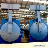 autoclave de briques du chauffage de vapeur de 2.85X31m AAC pour le marché de l'Iran