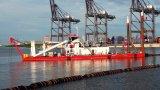 절단기 흡입 모래 준설선 또는 준설기 또는 준설 기계/배 배 또는 배