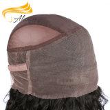 Волос девственницы химиката Frontal шнурка закрытия свободно Silk верхний