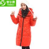 Куртка Тел-Форменный зимы теплая вниз для девушки