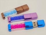 安い金属回転の宝石類USBのフラッシュ駆動機構(OM-C118)