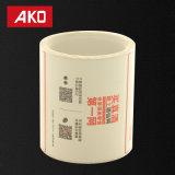 Étiquettes directes de logistique d'étiquettes d'expédition d'usine de papier extérieur respectueux de l'environnement normal de desserrage
