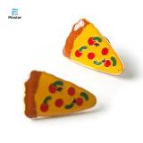 Het Kenteken van de Speld van de Revers van de Pizza van de Leuke van het Voedsel van Pinstar Domino van het Ontwerp