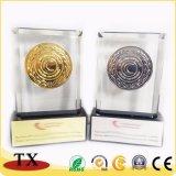 Trofeo trofeo de la aleación del cinc del metal del recuerdo y de la resina vendedores calientes del ABS y trofeo de acrílico del trofeo y del cristal y trofeo de madera