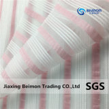Children의 Garments를 위한 100%Polyester 털실 Dyed Stripe Organza