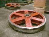 Roue personnalisée de boucle de roue de vitesse de moulage au sable