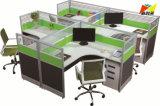 Het nieuwe Aangepaste Bureau van het Meubilair met het Werkstation van het Scherm van de Verdeling