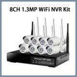 8CH 960p Kit de seguridad CCTV IP Wi-Fi Wireless NVR de cámara de sistema Plug-and-Play HDMI VGA