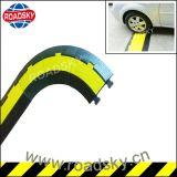 Baixo preço duplo - tampa de borracha do cabo da canaleta para a segurança de estrada