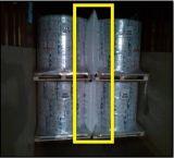 Zakken van het Stuwmateriaal van de Vuller van het Hiaat van de Schokbreker de pp Geweven voor Container