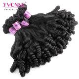 Yvonne Comercio al por mayor Nueva textura Virgen Fumi Puntas curl