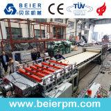 WPC 거품 장 생산 Line/PVC 널 밀어남 선 또는 플라스틱 기계