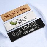 Étiquette tissée par vêtement fait sur commande à haute densité de tissu