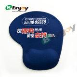 인쇄되는 주문 로고를 가진 튼튼하고 편리한 연약한 젤 손목 나머지 마우스 패드 매트