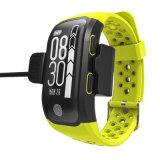 Новый GPS Smart Sport браслет на запястье смотреть