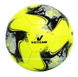 Brillantes colores Imitation-Leather taladrar balón de fútbol
