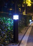 Indicatore luminoso solare esterno del giardino del LED con la batteria di litio LiFePO4
