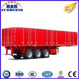 Lamas de alumínio Van Trailer-40ton de capacidade, Porta de comando eléctrico