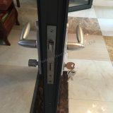 Aluminiumhartglas-Falz-Tür-Glasschiebetür