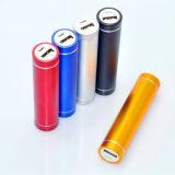 Comercio al por mayor de aluminio cilíndrica simple Teléfono móvil Teléfono recargable regalo personalizado