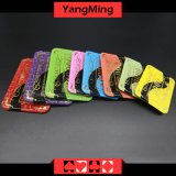 Os chips de póquer / Acrílico Crystal Mesh Bronzagem Chips Casino de silk-screen (YM -CP022/CP023)