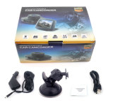 HD de 1080P Objectiva de grande ecrã de 2,4 polegadas Gravador de condução de automóvel