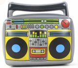 Inflatable PVC Toy radio Model musical of instrument
