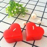 Rotes Inner-aromatische kleine Hochzeits-Kerze für Geschenke
