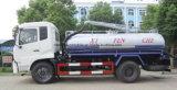 Dongfeng 4X2 고품질 8000 담가 찌끼 흡입 유조 트럭