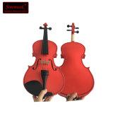 Instrument de musique de violon Violon de gros coloré d'étudiant