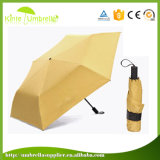 Dame Super Mini Pocket Umbrella mit schwarzem UVanti