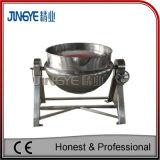Inclinar chaleira com camisa de vapor em aço inoxidável