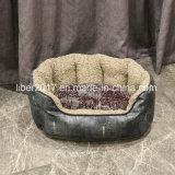 Hundebett-wasserdichtes Plüsch-Hundebett, das Haustier-Hundebett-Hundebett-Kissen anfüllt