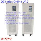 STROMVERSORGUNG der Qz Serien-15kVA 3 in/1-out Niederfrequenzonline-UPS