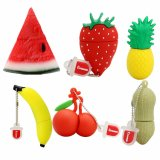 Cartoon Strawberry Stick USB Flash Memory Stick Dis