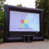 Раздувной подгонянный напольный экран киноего/дешево раздувной репроектор экранируют сбывание