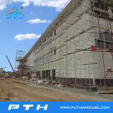 Le professionnel personnalisé par construction préfabriquée a conçu l'entrepôt de structure métallique de grande envergure