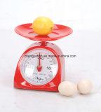 scala meccanica della cucina dell'alta Perision famiglia rossa della molla di 1kg