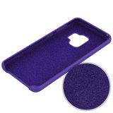 Жидкий силиконовый чехол для телефона Samsung Galaxy S9 S9 плюс
