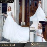 女の子のための新式の中国顧客用OEMのウェディングドレス