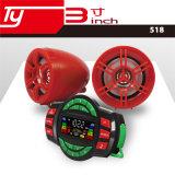 Motorrad-Teile mit MP3. Radio, wasserdicht, Warnungs-Funktion