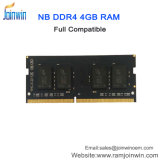 Trabalhar com todos os Laptop motherboard DDR RAM4 4GB 2133MHz 288pins