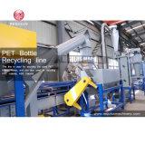Haustier füllt Plastikabfallverwertungsanlageab