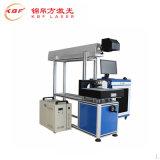 Máquina do &Engraver da marcação do laser da câmara de ar de vidro do CO2 para a cabeça de madeira