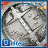 Клапан-бабочка высокой эффективности цены по прейскуранту завода-изготовителя Didtek с приводами шестерни