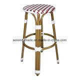 옥외 가구 쌓을수 있는 프랑스 작은 술집 등나무 대중음식점 의자
