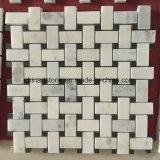 Mattonelle di mosaico del marmo della natura della Cina per la decorazione della parete